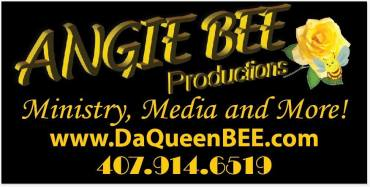 Angie BEE Productions logo