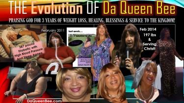The Evolution of Da Queen Bee  book cover
