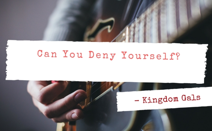 Kingdom Gals: Can You Deny Yourself? Tamara McCarthy