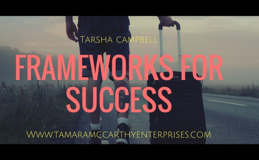 Spiritual Sundays: Frameworks for Success…Guest Blogger TarshaCampbell