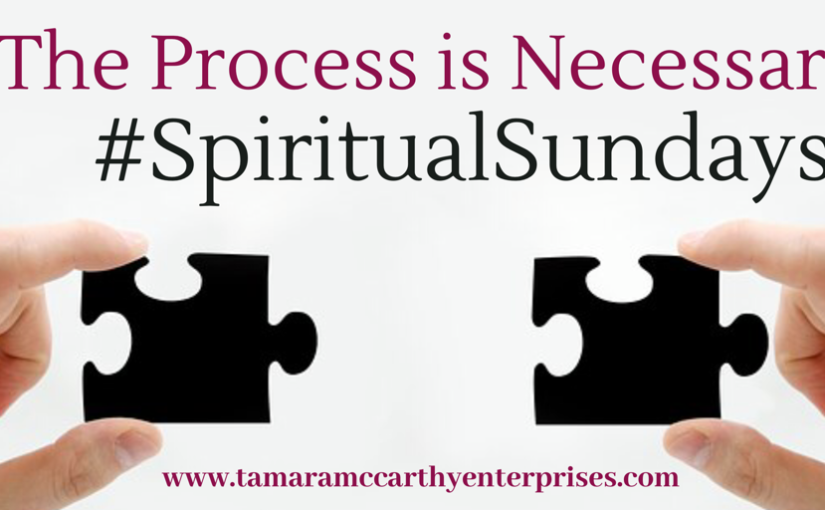 #SpiritualSundays: The Process is Necessary